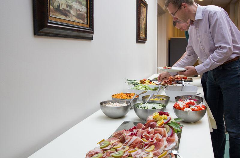 vergaderlocatie met catering